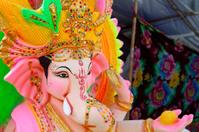 Ganesha statue, close up