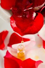 rose oil drop parfum