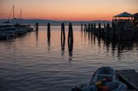 Sunset on Lake Champlain