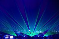 abstract laser light