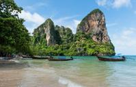 Railay Beach close to Krabi in Thailand