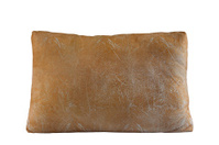 Classic large beige pillow