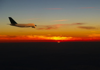 Flying into the Sunrise