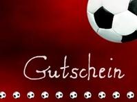 Fußball Gutschein