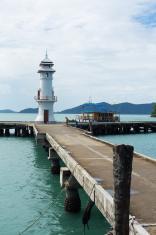 Koh Chang Pier, Thailand