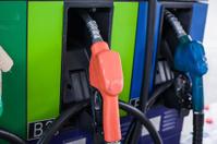 Colorful fuel oil gasoline dispenser