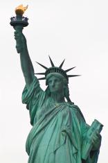 Statue of liberty view, New York, USA