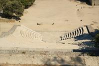 small theatre near Apollo Temple at the Acropolis of Rhodes