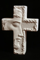 Religious: Profile of Jesus on Cross