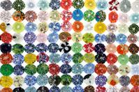 Background clasper fabric