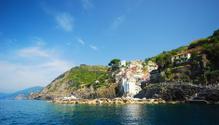 Italian village of Riomaggiore in Cinque Terre