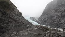 Franz Josef Glacier and fog