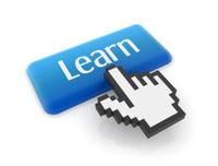 Hand cursor on learn button