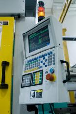 Control panel - Plastics manufacturing