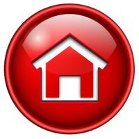 home icon, button.