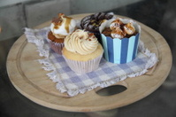 Fancy Frosted Gourmet Cupcakes