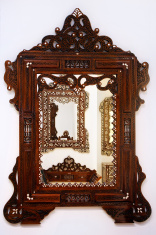 Handcrafted wooden frame