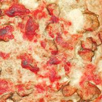 Courgettes zucchini pizza