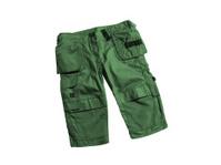 green shorts isolated