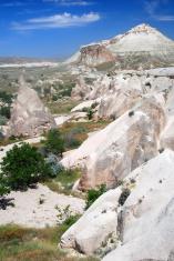 Volcanic landscape in Cappadocia