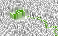 Labyrinth with KEY word