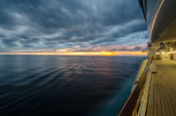 Sunset & Cruise Ship