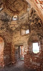 ruined ancient church