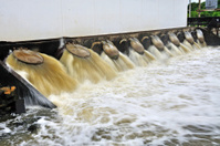 Drain waste water
