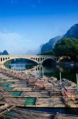 Li river karst mountain landscape
