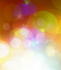 Abstract shiny circles