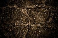 damaged cracked asphalt pattern texture