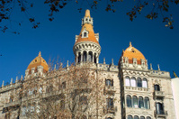 Orange Towers on Paseo de Gracia