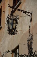 artistic street lamp