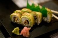 Maki rolls of sushi