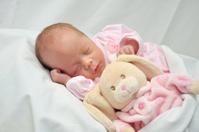 Sleeping baby (premature)