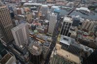 Aerial shot of Sydney, Australia