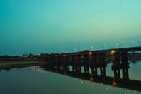 Bridge during the twilight