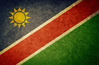 Grunge Flag of Namibia