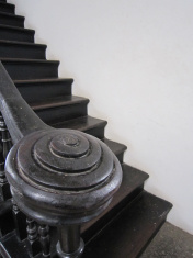Staircase of an old house