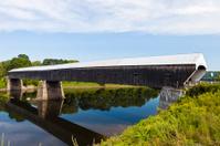 Cornish-Windsor Bridge In New Hampshire