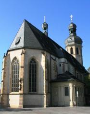 Church in Bruchsal