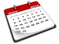 June 2014 - Calendar series
