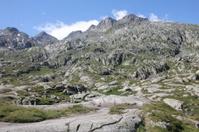 rocks in the alps