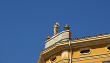 Historic building in the city of Pula, Croatia