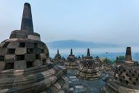 Borobudur Buddist temple