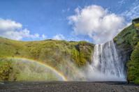 Skogafoss waterfall waterfall in Iceland