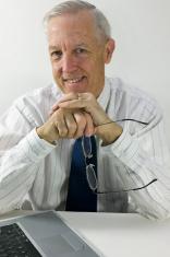 Senior businessman