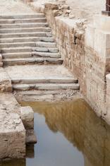 Sacred site: the baptism of Jesus in Jordan