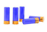 Blue shotgun