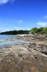Beautiful sea landscape. Koh Samet island in Thailand